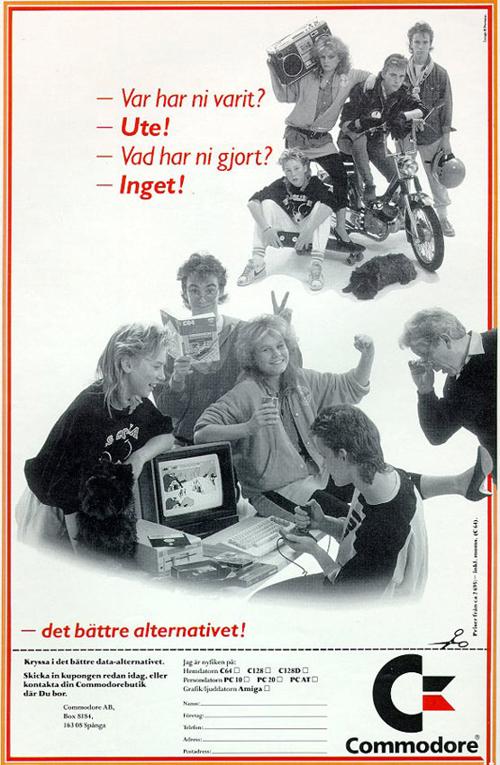 C64-reklam